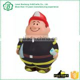 Promotional Fireman Bruce Anti Stress Toy