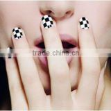 2014 New Design cosmetic Nail art polish stickers brush tool for bowknot bow tie butterfly nail sticker