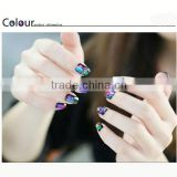 2014 New Design cosmetic Nail art polish stickers brush tool for disposable eva fashion design toe separators