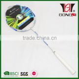 GX-7003 best sale aluminium&steel brand name badminton racket/fleet badminton racquet