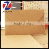 new arrived wholesale brown craft cheap machine made uniuqe durable blank paper envelope