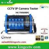 cctv video tester wifi ipc ptz tester cctv security tester IP ptz camera tester 7 inch touch screen HK-TM806IPC