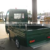 1000kgs china mini flat bed cargo truck with folded wall