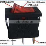 T85 illuminated rocker switches KCD1