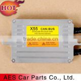 Car accessories HID Headlight Xenon Ballast Fast Start with Canbus 55w for Mazda, Toyota, VW