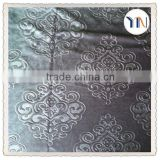 3d embossed Italy curtain fabric with velvet