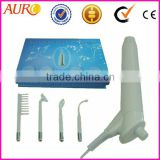 Au-018 Best selling portable high frequency facial machines/face massage machine hand-held