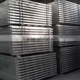 Customize 6 bars temporary welded metal farm fence pipe panel for goat / temporary corral fence and gate with top quality