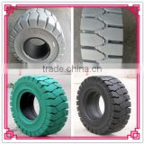 hot sale high quality stacker crane 23x10-12 solid tyres non marking tyres with cheap price