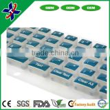 OEM Food Grade durable Customized Silicone Rubber Keypads, Keyboard, Button, Key