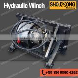 Skid Steer Loader attachments Hydraulic Winch
