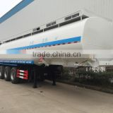 3axles 47.3cbm Fuel Tank Truck Refuel Tank Trailer Truck Oil Tank Truck Mobile Fuel Trailers Road Tankers
