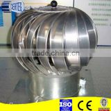 8inch 200mm stainless steel rotating spining chimney cowl Wind Driven turbine ventilator