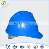 All Types of Light Blue Factory Safety Helmet With Chin Strap