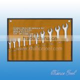 Double open end wrench set WSC025