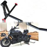 750LBS Motorcycle Paddock Stand Single Swing Arm
