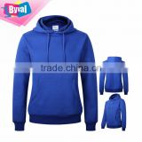 Wholesale Women Pullover Blank 100% Cotton Winter Wear Clothing Hoodie Sweatshirt With Hood