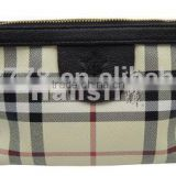 wholesale plaid airline travel kit