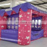AOQI new style use best PVC tarpaulin mini inflatable tent pink inflatable tent outdoor party inflatable tent for events