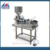 Semi-auto Pneumatic horizontal Cosmetics filling machine