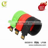 Promotional Wristband Usb Flash Drive For 2.0 Drive,Usb Flash Drive Silicone Wristbands
