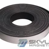 Flexible Magnetic Sheet Rubberized Magnets with Lamination of Black / brown Adhesive Ndfeb Strip Flexible Rubber Magnets