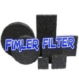 Foam ceramic filters made of highly pure zirconia (Zirconia foam ceramic filters)