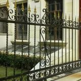 Zinc steel fence,iron fence gate