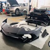 KM body kit for For 2012-up Lamborghini Aventador LP700 upgrade Aventador LP750SV body kits car bumper auto parts