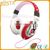 2016 Comfortable wholesale colorful stereo best selling promotional stereo headphones headsets
