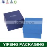 Fancy paper jewelry box custom made paper box packaging with lid square paper storage box