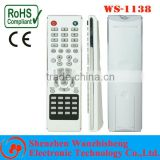 high quality ABS remote controller with CE/ROHS good price for led/lcd tv remote controller