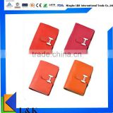 multi color soft leather card holder/id card holders/business card holder