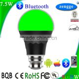 Best Selling Products in America Smart Lighting 7.5w RGBW Bluetooth Led Bulb Smart Home Control System IOS/Android APP