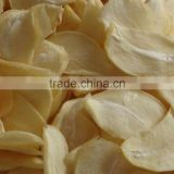2016 new Chinese High Quality Dehydrated garlic flakes and sliced without root or with root
