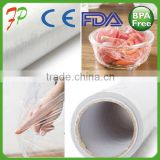 Food Packaging Pe Plastic High Quality And Safety Transparent Clear Best Sale Food Grade Roll Cling Film For Food Oem Accepted