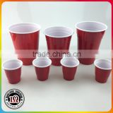 2oz 12oz 14oz 16oz 18oz Plastic Solo Red Beer Pong Cups                                                                         Quality Choice