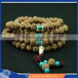 14mm Vajra Bodhi 108 Prayer beads china rudraksha mala beads wholesale