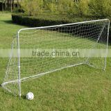 Metal frame football soccer goal with nets
