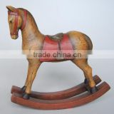 Resin rocking horse furnishing articles home decoration
