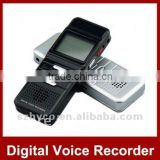 Portable 8GB Digital Voice Recorder 1.44 TFT LCD Screen Louder Speaker Digital sound Recorder with MP3