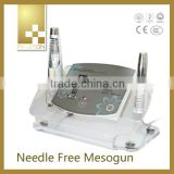2014 Home Use iontophoresis device Needle Free Mesotherapy machine galvanic beauty machine