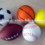 2014 fashion color soft solid bouncy rubber ball