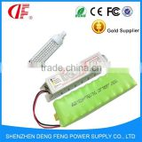 emergency power inverter and green batteries for Emergency light 5 watt led 2hours with led rgb controller