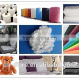 Recycled 7D/15D * 64mm Hollow Conjugate Siliconized Polyester Staple Fiber for filling quits or pillows,cushions