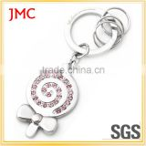 Various Shapes Cheap Christmas Promotion Gift Keychain Custom Laser Engrave Logo or Blank Zinc