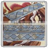 Decoration mosaic border for bathroom wall