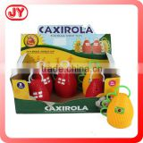The newest 2015 cheering horn caxirola for world cup football cheering toys plastic with EN71