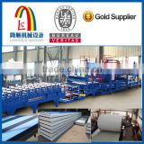 EPS / Rockwool PLC Control-system Aluminum Composite Panel Producing Line
