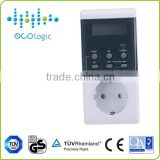 single phase lamp hour electrical timer, digital day event electrical timer switch outlet